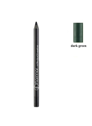 Flormar Great Look Ultra Dark Green Eyeliner Renkli